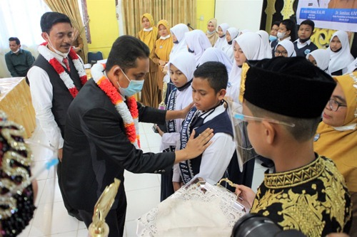 Smpn 6 Banda Aceh Lantik Satgas Dan Duta Anti Narkoba Serta Penguatan Literasi Di Sekolah Diskominfo Banda Aceh
