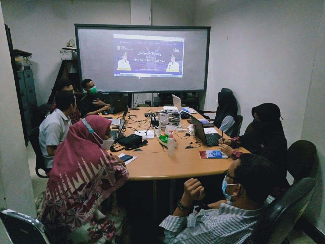 Tingkatkan Pelayanan Informasi Publik Ppid Utama Kota Banda Aceh Upgrade Aplikasi Ke Versi Terbaru Diskominfo Banda Aceh