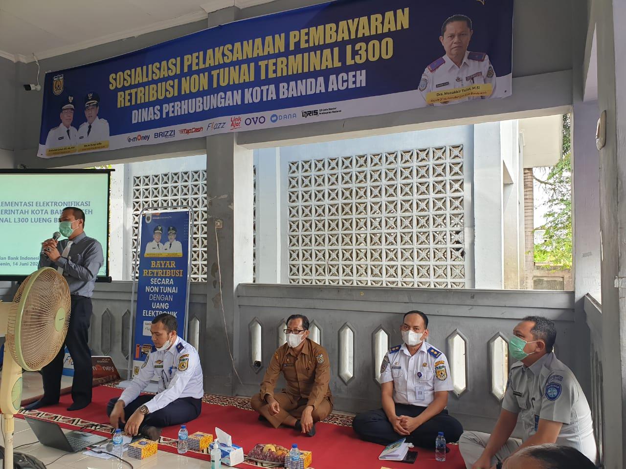 Terminal L300 Lueng Bata Berlakukan Pembayaran Non Tunai Diskominfo Banda Aceh